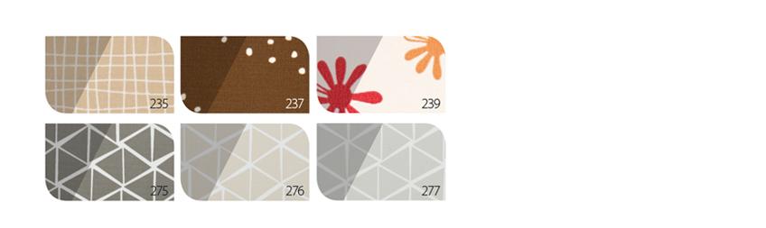 Verduisterend rolgordijn kleuren prijsgroep 3