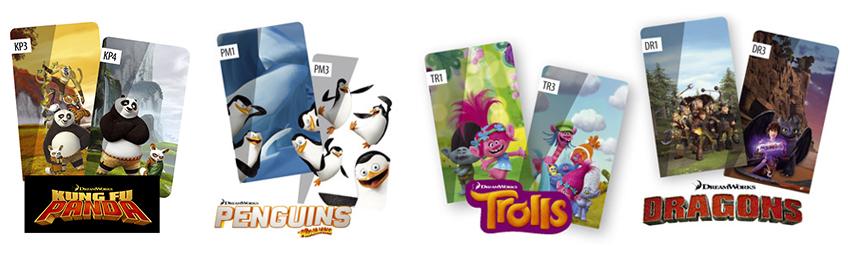 DreamWorks prints voor FAKRO verduisterend rolgordijn