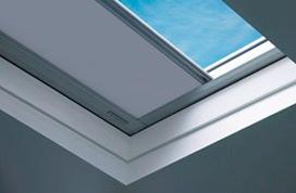 Binnenzonwering voor lichtkoepels platdakramen fakro