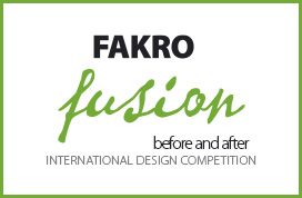 FAKRO FUSION before and after - International Design Competition