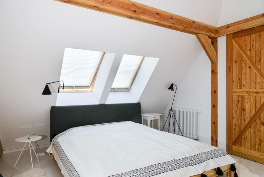 Inspiratie slaapkamer met dakramen