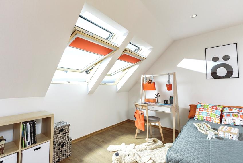 Zonwering Slaapkamer 5 : Inspiratie slaapkamer fakro