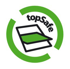 Download het TopSafe logo