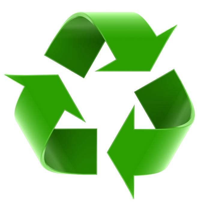 Recyclebaar materiaal