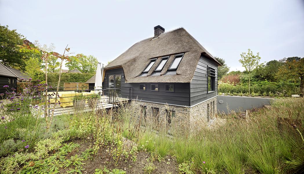 huis rieten dak