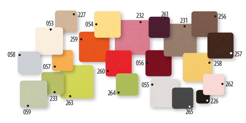 Verduisterend rolgordijn kleuren prijsgroep 2