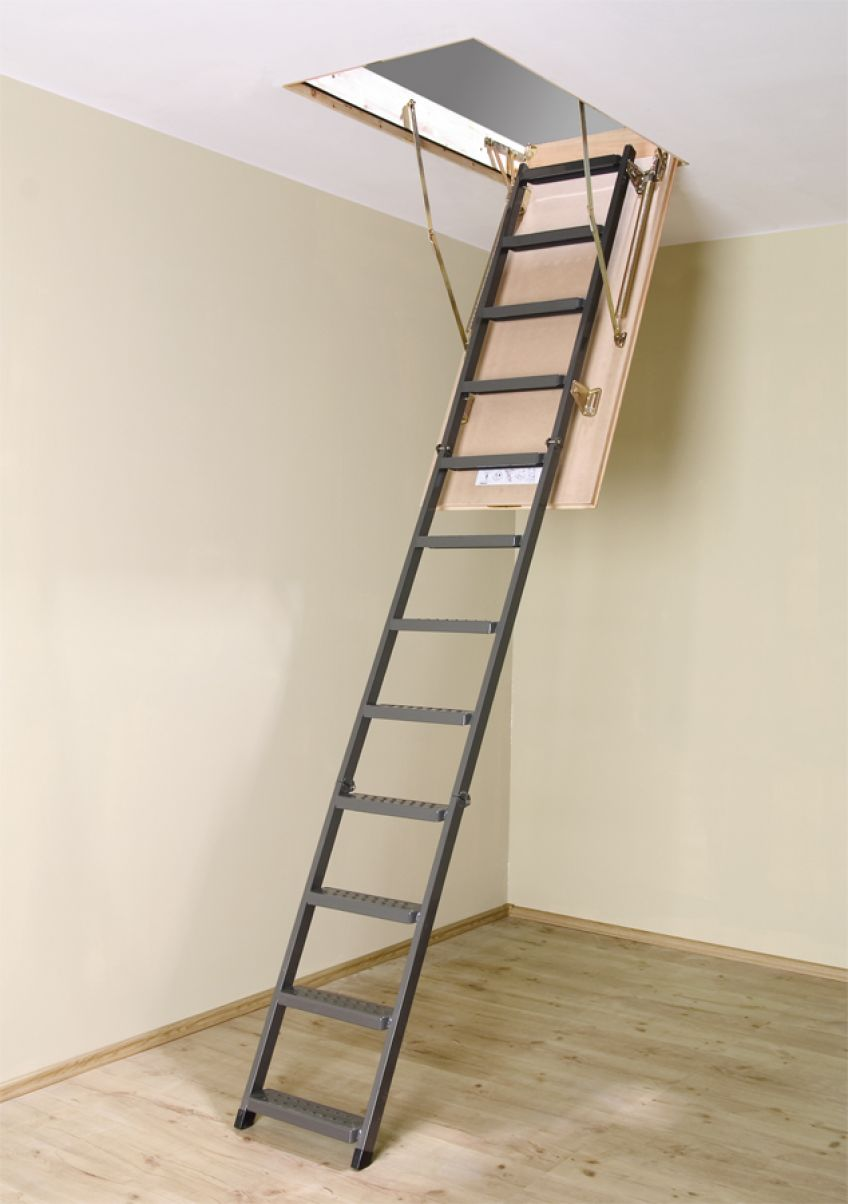 Zoldertrappen Met Metalen Ladder Fakro
